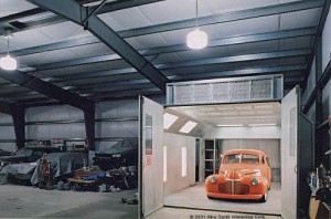 Workshop classic car